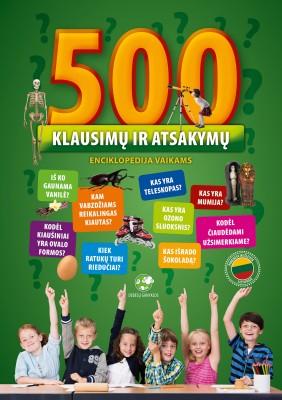500_klausimu_ir_atsakymu_vaikiska_knyga_vaikams_enciklopedija_dovana_gera_debesu_ganyklos_terra_publica_internetu_pigiau