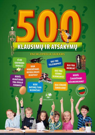 500 klausimų