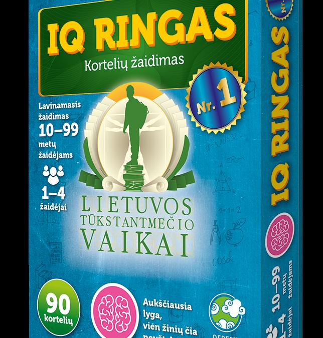 """""""IQ ringas"""" Nr. 1"""