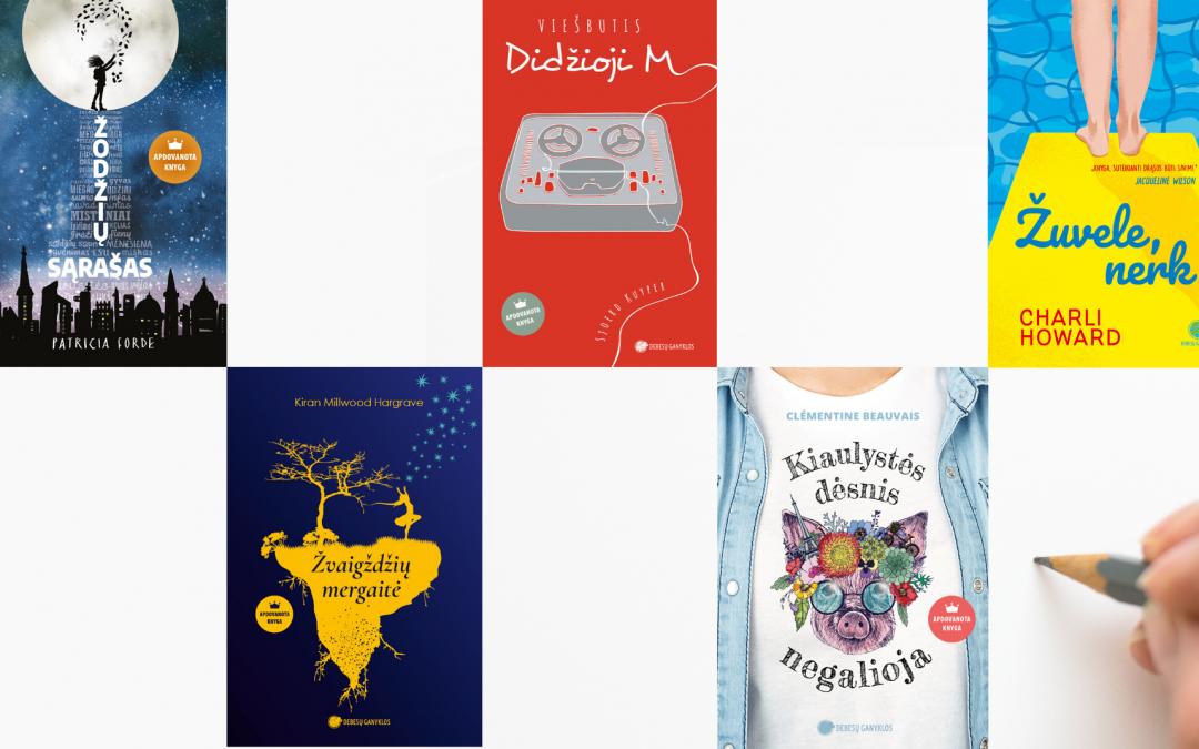 Naujausios knygos paaugliams: nuo prajuokinančių iki verčiančių susimąstyti